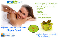 Fisioterapia y Osteopatía Fisiolife Móstoles