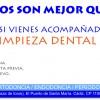 Dos son mejor que uno!,   Si vienes acompañad@, Una limpieza dental gratis!