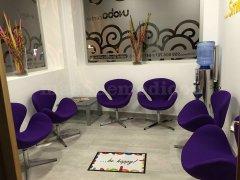 Sala de espera - Clínica Dental Unoba Center