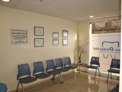Sala de espera - Clínica Dental P&P