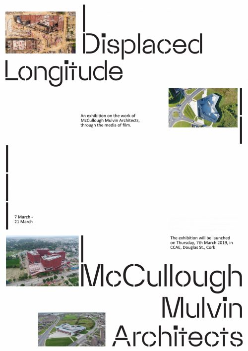 Displaced Longitude exhibition opening at CCAE Thurs 7th March 2019 at 6pm