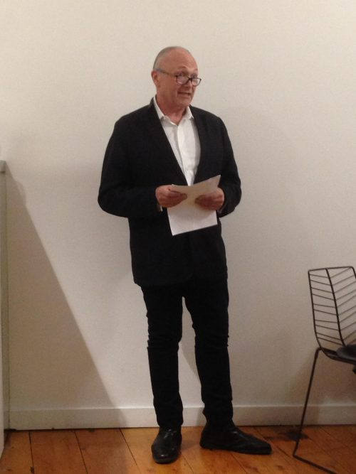 "Niall McCullough launches new book ""Seamless Neighbourhood"" by Paul Kearns and Motti Ruimy"