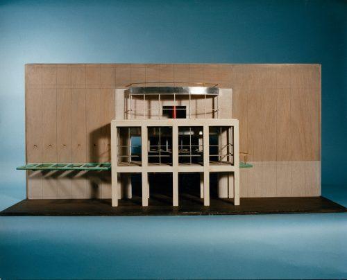 Abbey Theatre, Dublin - Poster Boxes + Portico + Unbuilt scheme