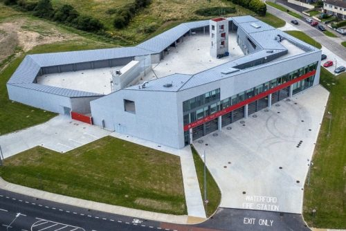 Waterford Fire Station awarded Merit at Structural Steel Design Awards 2017