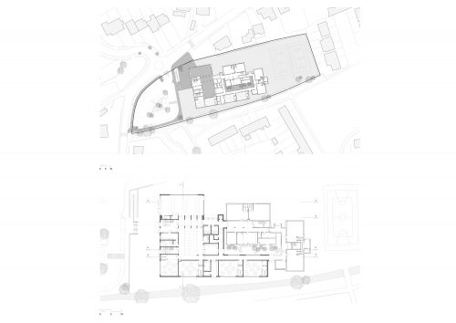 site plan with ground floor