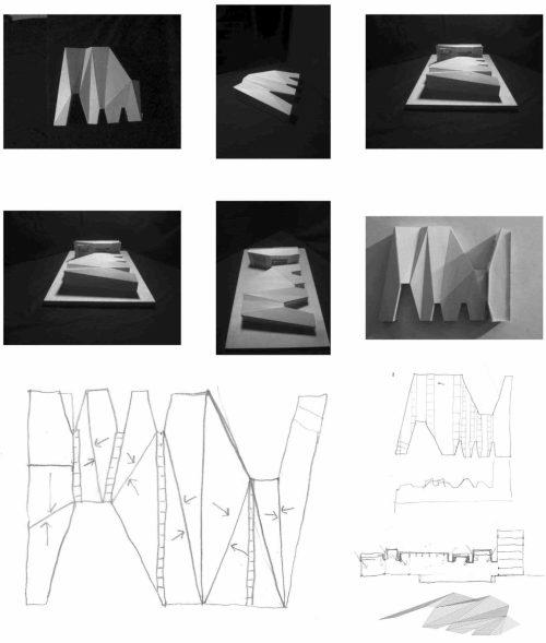 model & sketch studies