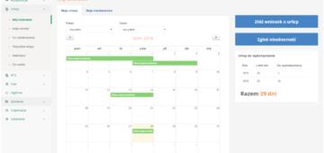 Elektroniczny obieg wniosków urlopowych - system dla działu HR