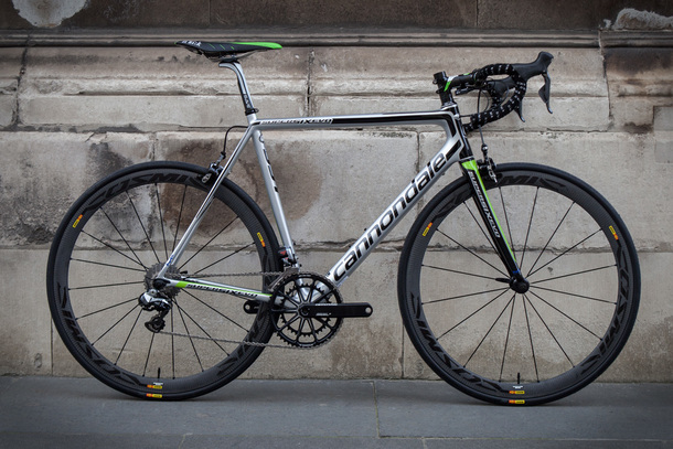 Cannondale SuperSix with Cosmics
