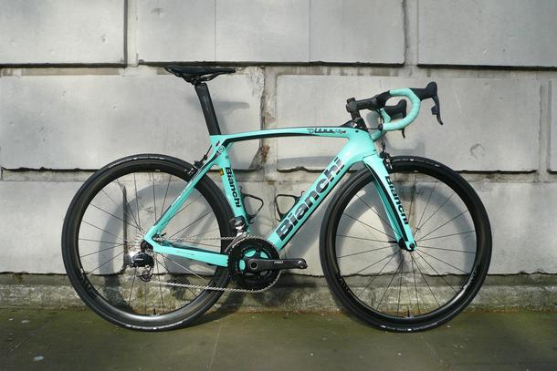 Bianchi Oltre XR4 with eTap