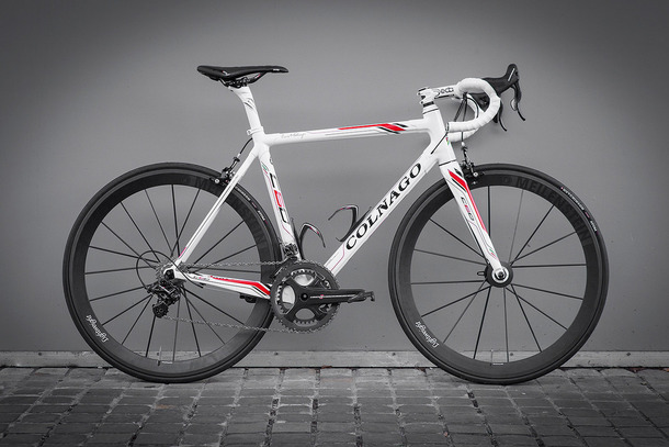 Colnago C60 White with Lightweights