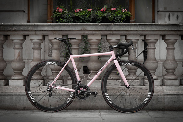 Independent Fabrication Steel Crown Jewel In Pink