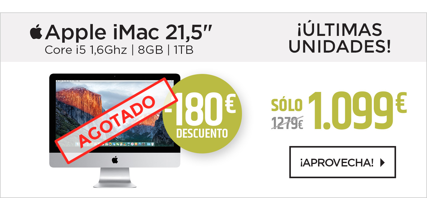 "Apple iMac 21,5"""" Core i5 1,6Ghz 