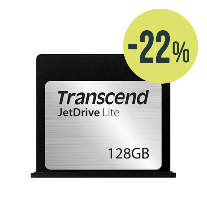 "Transcend JetDrive Lite 130 Macbook Air 13"" 128GB"