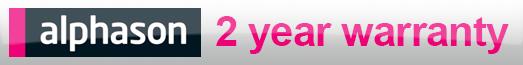 Alphason - 5 Year Warranty