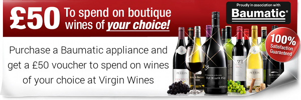 Baumatic - ?50 Virgin Wines Voucher