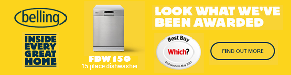 Belling - Which Dishwasher Award