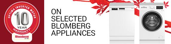 Blomberg - 10 Year Optima Inverter Motor Guarantee