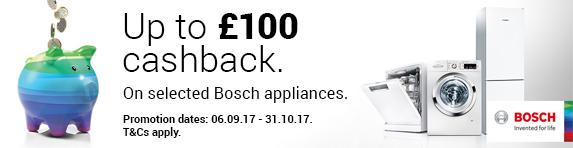 Bosch CIH ?100 Cashback 06.09.2017 - 31.10.2017