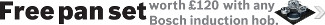 Bosch - Free Pan Set