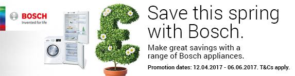 Bosch Spring Sale 12.04.2017 to 06.06.2017