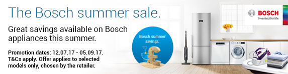 BOSCH Summer Sale 12.07.2017 - 05.09.2017