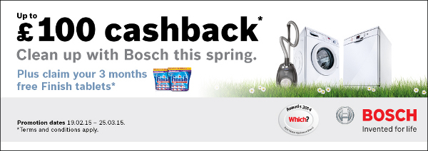 Bosch - Up to �30 cashback