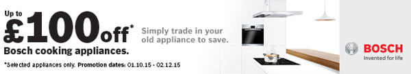 Bosch Cooking Trade In 01.10-02.12