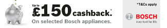 Bosch Up �150 cashback 04.02.2016-16.03.2016