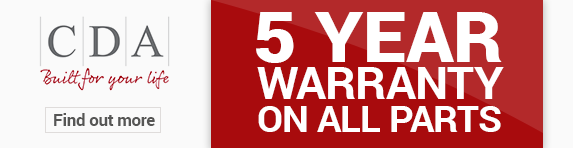 CDA - Warranty Banner