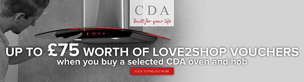 CDA - Love2Shop Promotion on Oven & Hobs 05.11-01.12.15