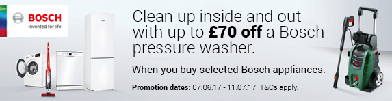 Bosch - Claim Up o ?70 off a Bosch Pressure Washer