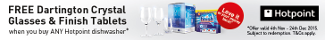 Hotpoint - Darlington Crystal Glasses Promotion 04.11-24.12.15