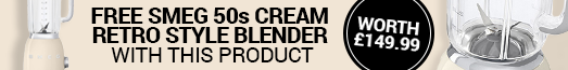 Free Smeg Blender Cream with selected products