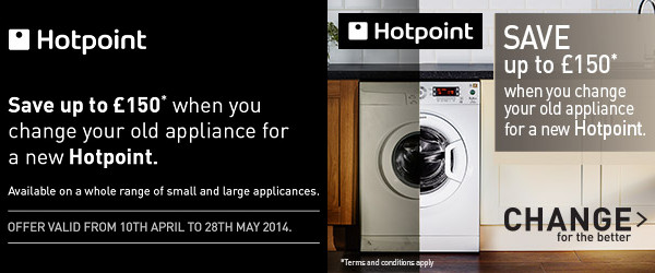 Hotpoint - Change for the Better - �150 cashback - Drying