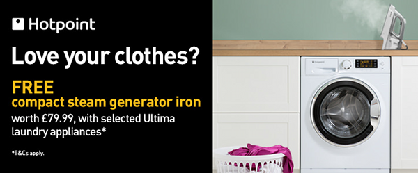 Hotpoint Ultima - Love Your Clothes National Campaign 02.07-27.08