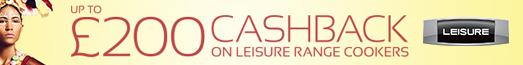 LEISURE £200 Cashback Promo 13.07.2017 - 30.08.2017