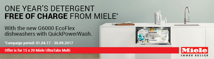 Miele Free Supply of Ultra Tabs Multi for 1 Year 01.04.2017-30.09.2017