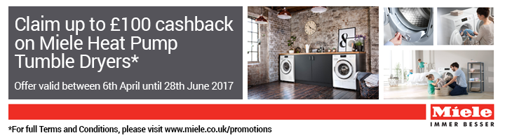 Miele Cashback Tumble Dryers T1 17.08-11.10