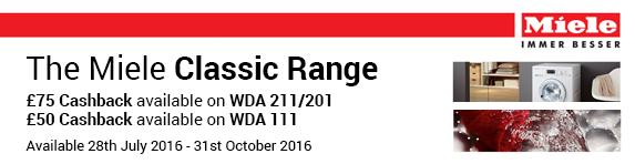 Miele WDA Cashback 28.07-31.10.2016