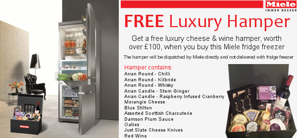 Miele - Fridge Freezer - Luxury Hamper