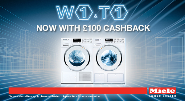 Miele - ?100 cashback on on W1 and T1