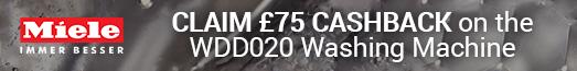 Miele Cashback £75 WDD020 17.08-11.10.2017