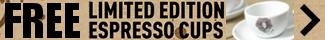 Panasonic - Free Espresso Cups