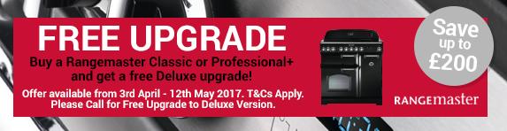 Rangemaster Classic & Professional Upgrade to Deluxe 03.04-12.05.2017