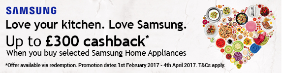 Samsung Cashback Promotion 01.02-04.04.2017