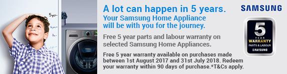 Samsung - 5 Year Warranty White