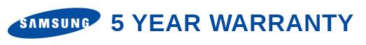 Samsung - 5 year guarantee AV