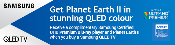Samsung - FOC ULTRA HD Blu-Ray Player with QLED TV 2