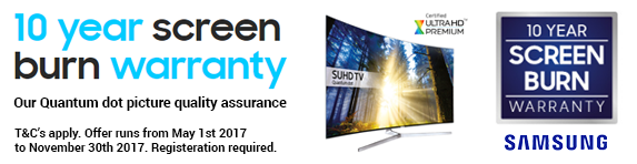 Samsung - Screen Burn Warranty