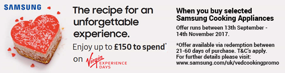 Samsung Voucher - Virgin Experiance Days